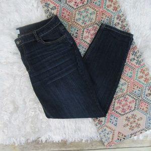 Liz Claiborne Plus Size Curvy Straight Leg Jeans